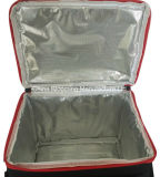 il vino del poliestere 600d può sacchetto freddo isolato del dispositivo di raffreddamento del ghiaccio del pranzo di picnic
