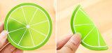 Modèle de parts de fruit pour le couvre-tapis d'isolation de cuvette de couvre-tapis d'assiette