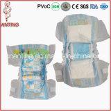 Couche-culotte somnolente colorée en gros de bébé de la Chine Softtextile