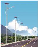 indicatore luminoso di via solare di 9m con le lampade solari di 60W LED