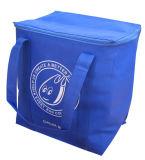 Eco подгоняло Non сплетенный мешок охладителя обеда пикника для еды, питья, чонсервной банкы пива, льда охлаждая, коробки, промотирования