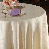 Matéria têxtil do hotel/saia da tabela/pano de tabela (DPR2003)