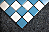 I prodotti di vendita caldi hanno lustrato il mosaico di ceramica della porcellana