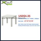 Mesa de centro lateral de madeira moderna (tabela lateral de Ikea)