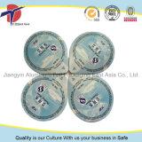 Plastikcup-Aluminiumfolie-Dichtungs-Kappe des Wasser-250ml