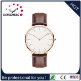 Montre-bracelet faite sur commande de dos de caisse d'acier inoxydable de montre de tendance de cheval neuf de modèle