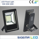 Reflector al aire libre IP65 20W 30W del alto lumen SMD