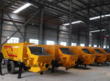China Manufature de Diesel Concrete Pump para Construction