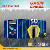 Divertimento Rides 5D 6D 7D 8d 9d Theater Cabinet 5D Simulator House 5D Cinema Cabin da vendere