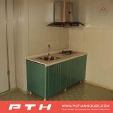 Conteneur préfabriqué pour le type Integrated de taille personnalisé par Chambre de cuisine/cuisinier