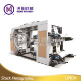 Machine d'impression d'empaquetage flexible de film plastique de 4 couleurs