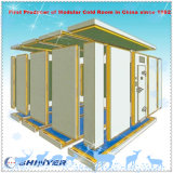 Quarto de armazenamento frio modular para vegetais e frutas