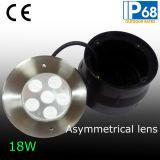 45 도 불균형 렌즈 LED 수중 램프 (JP94762-AS)
