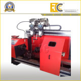 Máquina de soldadura horizontal do tanque para compressores de ar