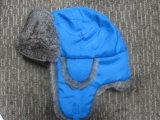 Winter gestrickte Hut-/Winter-Schutzkappe Hut-/Wool-Berret mit Abdeckstreifen