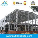 Bâtiment bien projeté préfabriqué de structure métallique de qualité