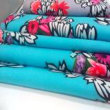 의복 직물 홈 직물 직물을 인쇄하는 폴리에스테 스판덱스 꽃