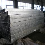 Tubo de acero galvanizado caliente de inmersión cuadrada para la estructura de acero