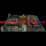 X58-1366 scheda madre con 2*DDR3+2 * PCI Express X16+ 1* PCI Express X1+1* PCI+4* SATA2+1*IDE+6 * USB 2.0 +1 X Port+1*PS/2+LAN seriale