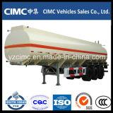 CIMC 3 оси бензовоза Полуприцеп масляного бака