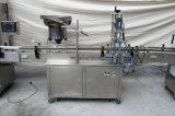 Máquina que capsula de relleno automática del etiquetado y del tarro