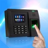 Биометрические данные по перехода системы посещаемости времени фингерпринта WiFi (5000TC/WiFi)