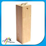 Деревянная коробка вина для одной бутылки