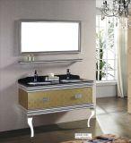 ركب [ستينلسّ ستيل] غرفة حمّام مرآة تفاهة خزانة