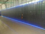 P10mm cortina LED de vídeo interno com transmissão de alta iluminação