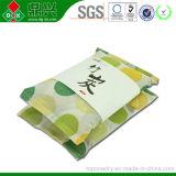 Bolso de bambú natural colgante impreso insignia modificado para requisitos particulares del carbón de leña de Moso