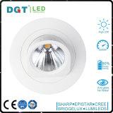 Matériau de corps de lampe et type en aluminium lumière commerciale de poste de projecteurs d'endroit de DEL