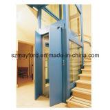 안전 유리를 가진 630kg 좋은 품질 별장 엘리베이터