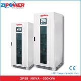 UPS en línea industrial de la conversión doble de entrada de información 400V y de la salida 80kVA