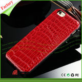 Caixa do telefone de pilha da textura TPU do jacaré dos acessórios do telefone para o iPhone 6