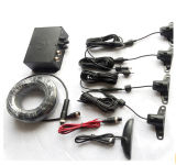 LED Truck Parking Sensor con 12-24V e 4 Sensors Buzzer Alarm LED