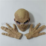 Gloves, Latex Halloween Mask를 가진 외국 Mask