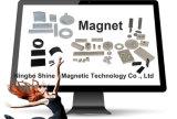 Kleiner unregelmäßiger Magnet mit abgeschrägtem Neodym-Magneten des Rand-N50