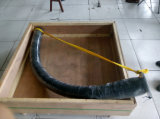 Desgaste durável patenteado - mangueira cerâmica resistente da mineração com qualidade fina, flexibilidade da dobra do raio