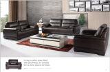 Sofà del cuoio genuino della mobilia del salone con alta densità