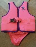 Neopreno/revestimento de vida de nylon da natação, veste, revestimento de vida para o esporte de água, veste da segurança, Swimwear, esportes de água (WM-0229)