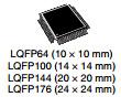 Интегрированный - цепь Stm32f405rgt6 коркы рукоятки трицатидвухразрядной - M4 C.P.U. IC