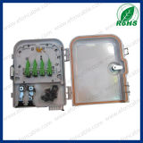 Divisor de los corazones/Adaptor/PLC de la caja terminal 8 de FTTH