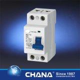Disjuntor atual residual eletromagnético de 2p 25A 40A RCCB