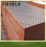 A película enfrentou a madeira compensada para o uso concreto da construção