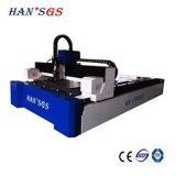 Cortadora del laser de la fibra del sistema de control del CNC para el acero inoxidable del corte