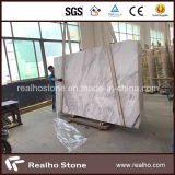Lastra di marmo bianca della Grecia Volakas di alta qualità