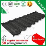 Mattonelle 2016 di tetto rivestite della pietra dei materiali di tetto della Cina che coprono le creste per vendita
