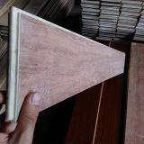 Revestimento de madeira projetado parquet da noz preta da alta qualidade