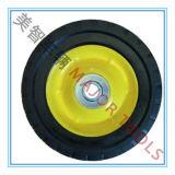 petites roues de matériel de pneu en caoutchouc solide élevé de la capacité de charge 6X1.5