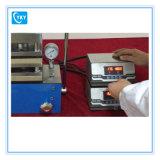 Pressão quente hidráulica de 500 c para formar filmes e placas de polímero e compostos